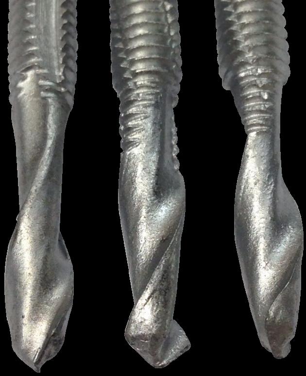 鑽尾螺絲 六角頭S形螺旋尾細牙 路銹寶 2